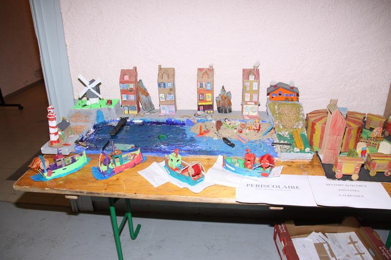 Le port imaginé et créé par les grands de l' ALP de Lalbenque